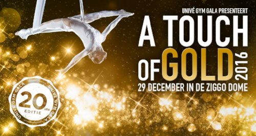 Gymgala 'A touch of gold' 29 december