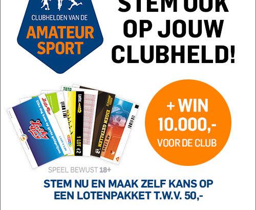 Stem op Linda als clubheld van OKK en win!